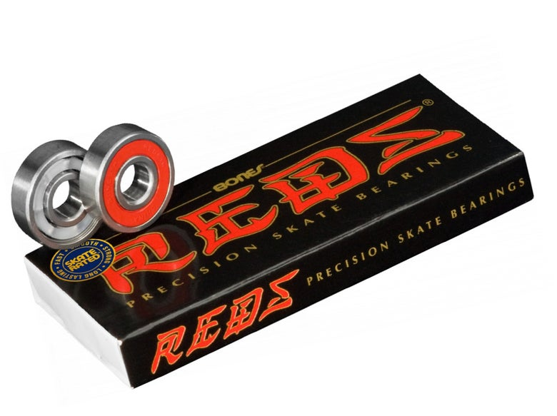 Image of BONES® REDS® SKATEBOARD BEARINGS 8 PACK