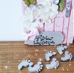 Image of Custom Decorative Teeny Fairy Feet