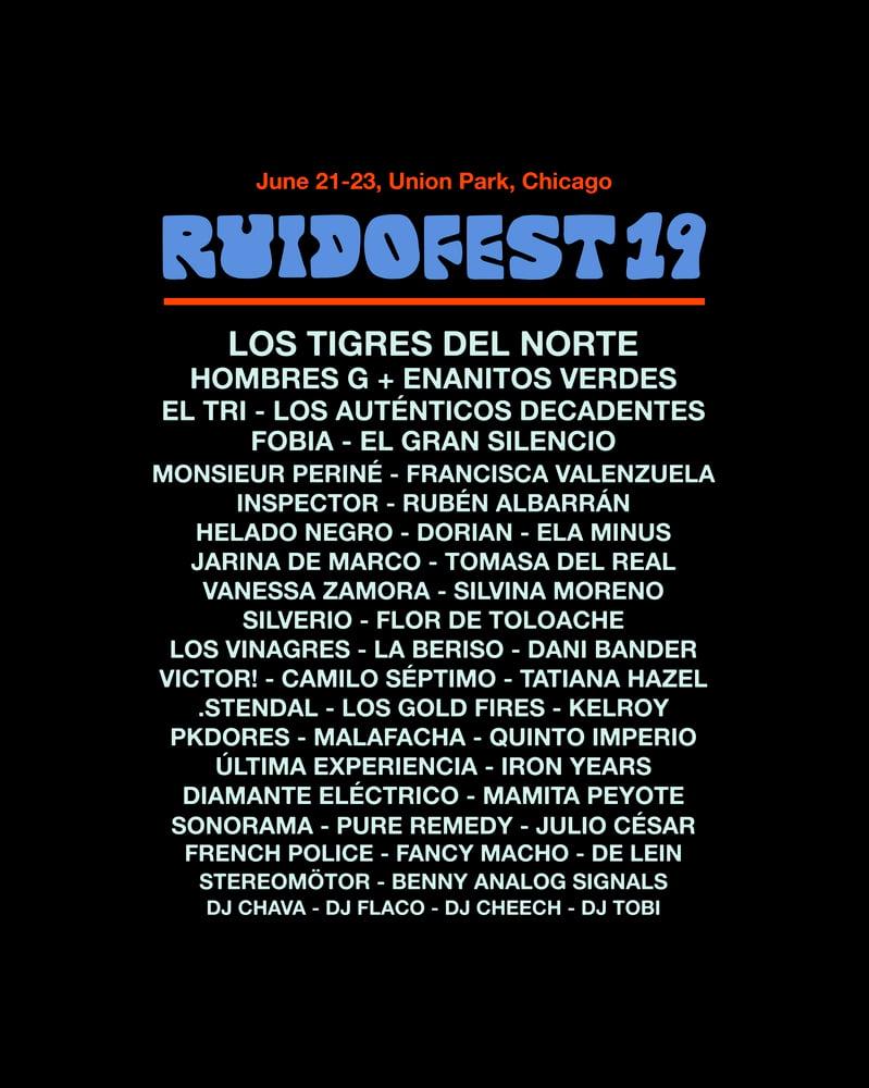 Image of Ruido Fest 2019 - Shirt 1