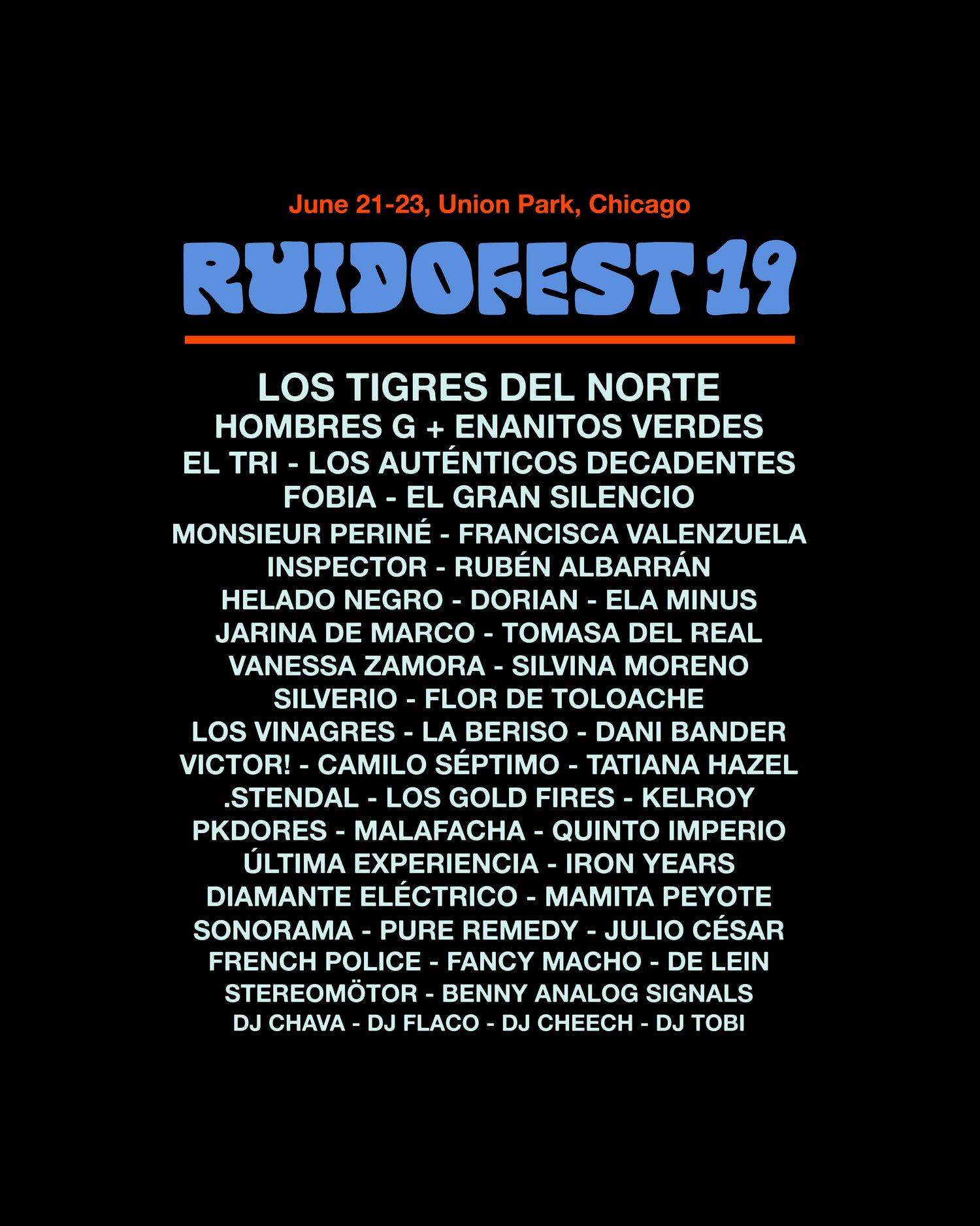Image of Ruido Fest 2019 - Shirt 2