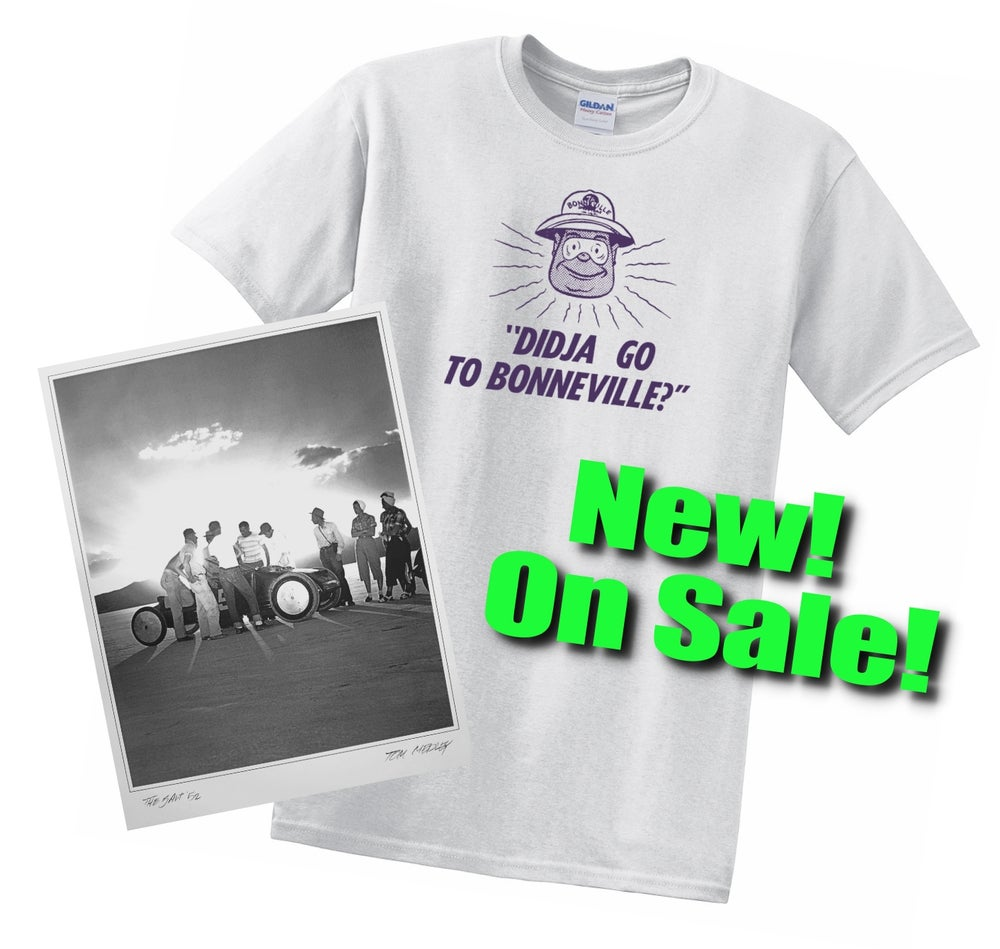Image of ON SALE! -- Bonneville Combo Pack - Poster and T-Shirt