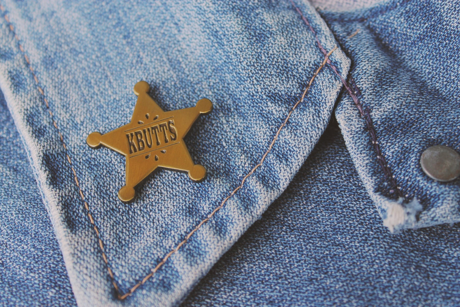Image of Sheriff Pin
