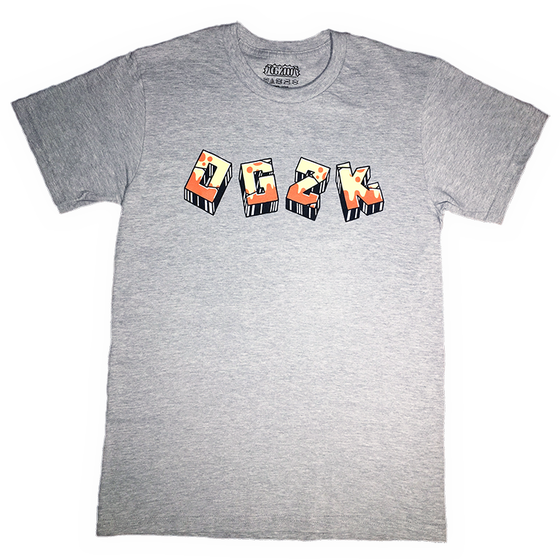 "Image of ""GRAFFITI"" T-SHIRT *** HEATHER GREY"