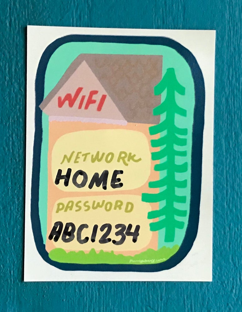 Image of Wifi Password Magnet