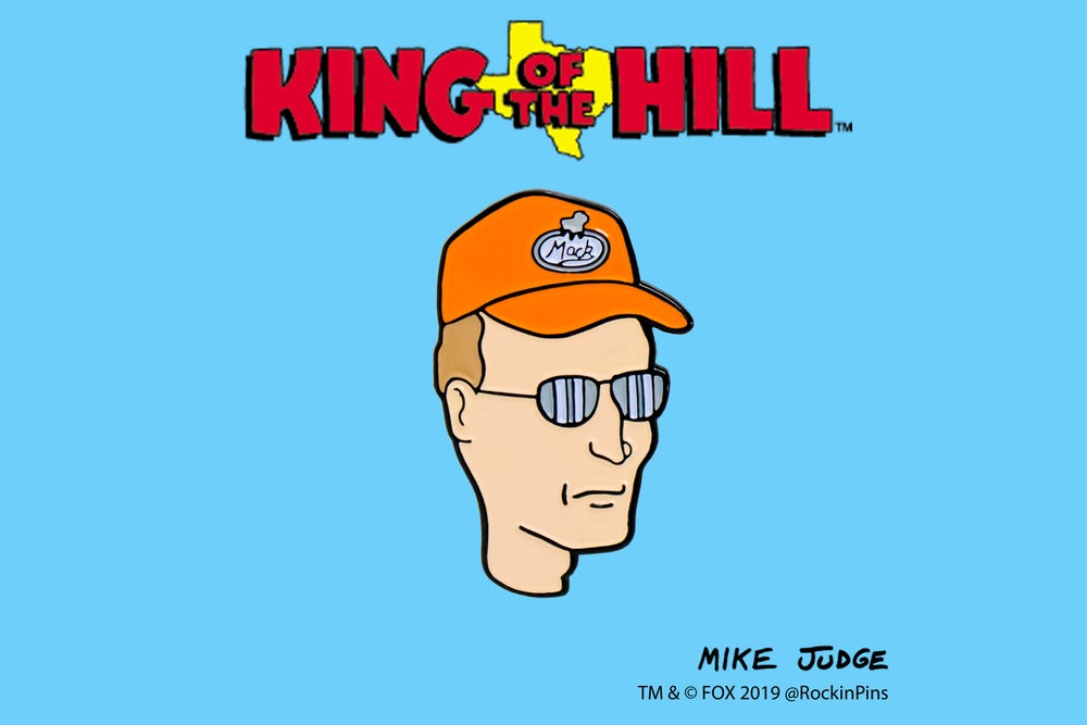 Image of King of the Hill - Dale Gribble Head