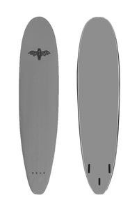 Image of COFFIN 8'0 THRUSTER <br> SILVER