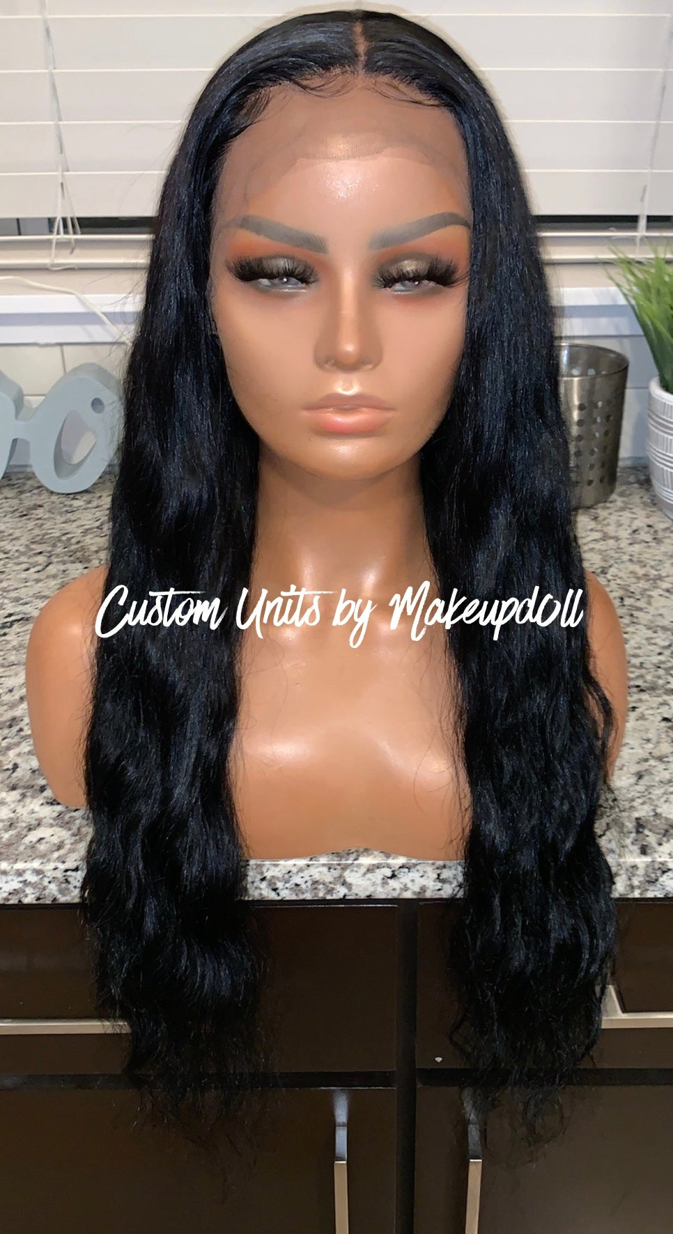 "Image of Raw Indian Natural Wave 24"" Lace Front Wig!"