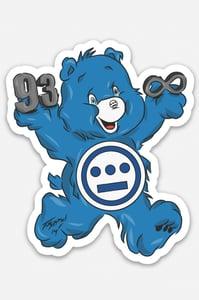 Image of 93 til Bear 3-inch sticker