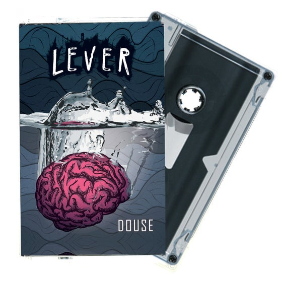 "Image of Lever - ""Douse"" Cassette Tape (Midwest Action)"