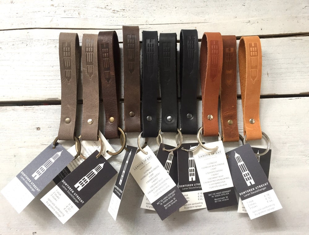 Image of Leather Key Loop Utrecht