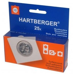 Image of Hartberger Self-Adhesivie Coin Holders