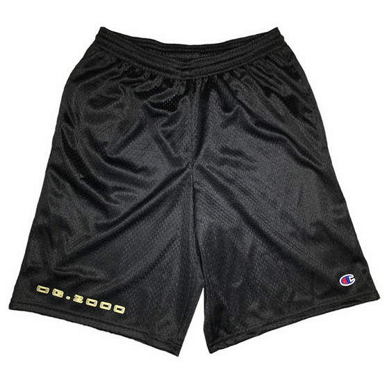 "Image of ""STEEL"" SHORTS *** BLACK"