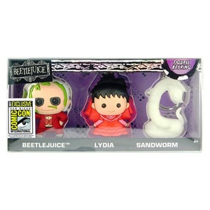 Image of Beetlejuice 3D Key Chain 3-Pack - San Diego Comic-Con 2017 Exclusive
