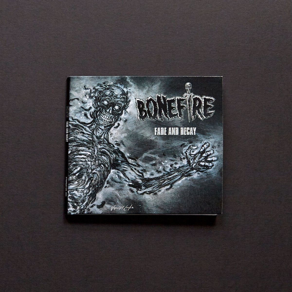 "Image of CD - BONEFIRE ""FADE & DECAY"" 10 song Compact Disc"