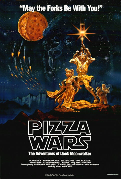 Image of Pizza Wars movie poster