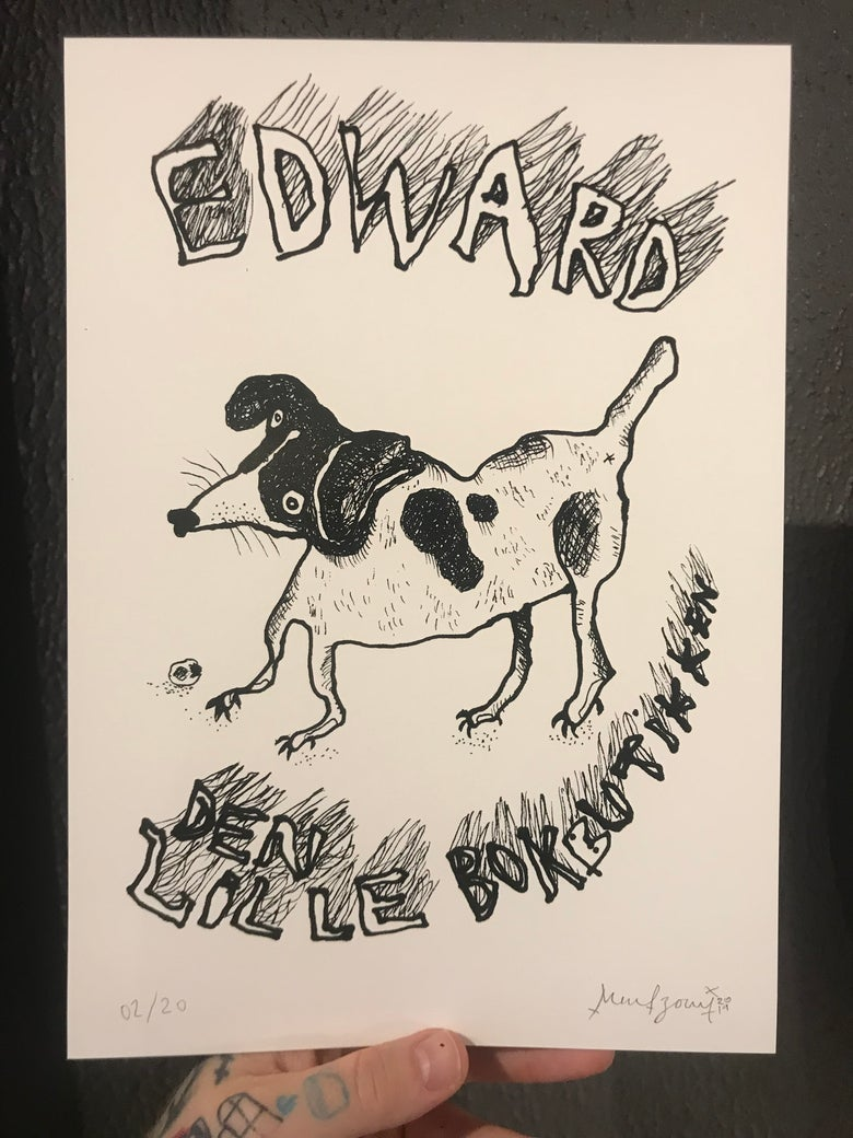 Image of «Edward the Dog» A4-Print