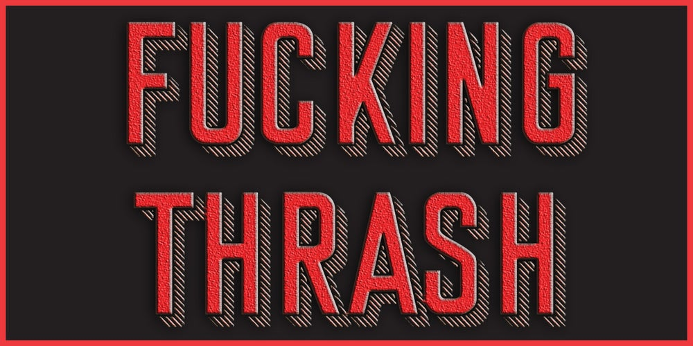 Image of Embroidered Patch:  F***ING THRASH