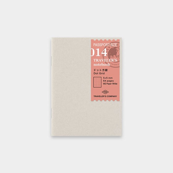 Image of TRAVELER'S COMPANY Passport Dot Grid Refill 014