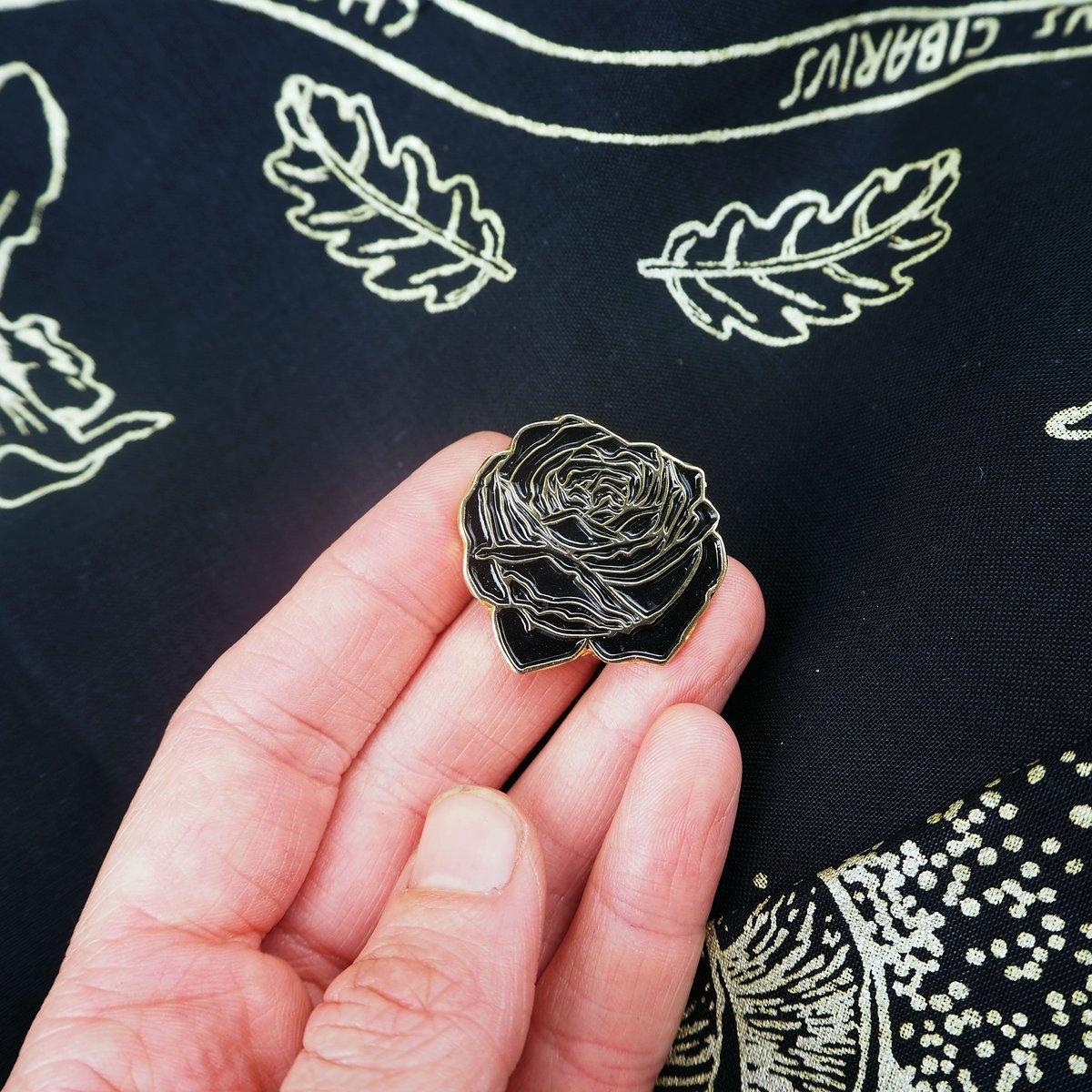 Image of Rose Enamel Pin