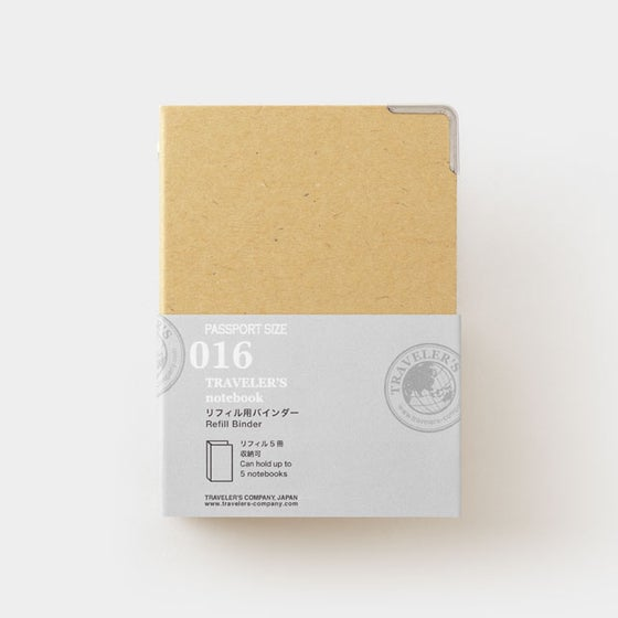 Image of TRAVELER'S COMPANY Passport Refill Binder 016