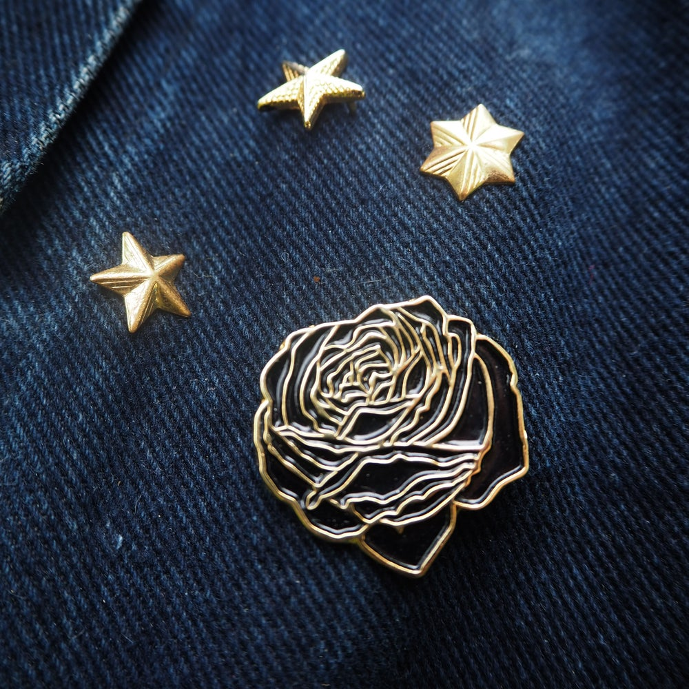 Image of Rose Enamel Pin