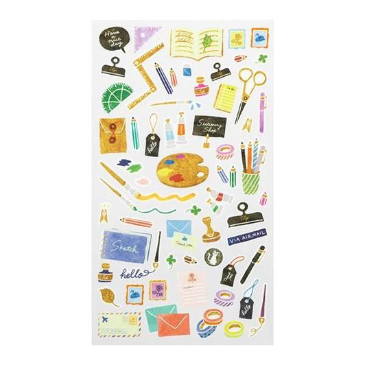 Image of MIDORI Sticker Marche Masking Seal Stickers - Stationery