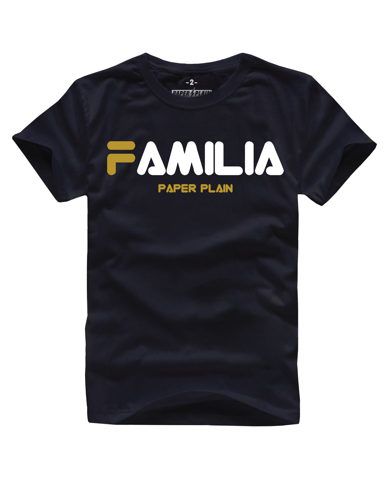 Image of FAMILIA BLACK/GOLD FOIL