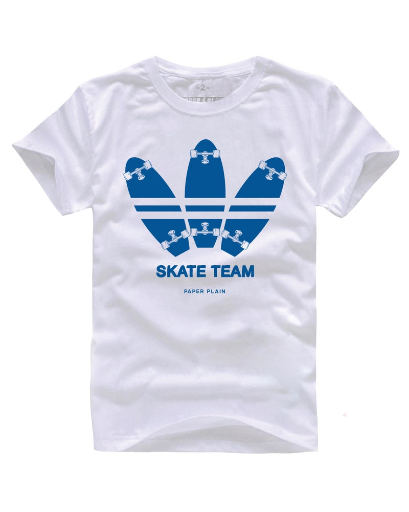 Image of SKATE TEAM WHITE