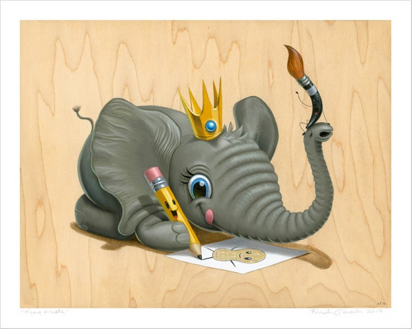 "Image of ""King Kreate"" giclee"