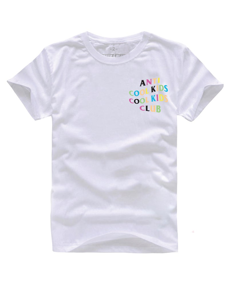 Image of ANTI COOL KIDS MULTI WHITE