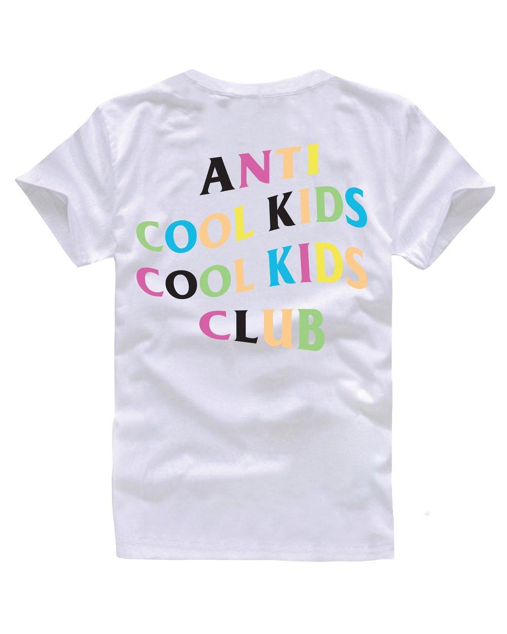 ANTI COOL KIDS MULTI WHITE