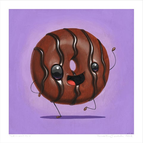 "Image of ""Chocochoco"" giclee"