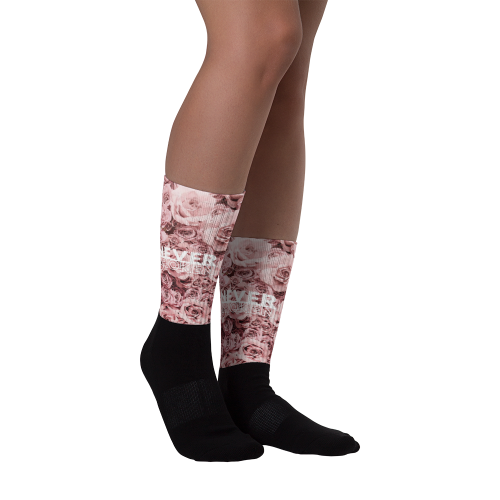 Image of Never Broken Rose Socks