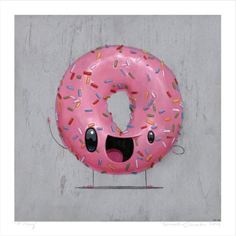 "Image of ""Pinky"" giclee"