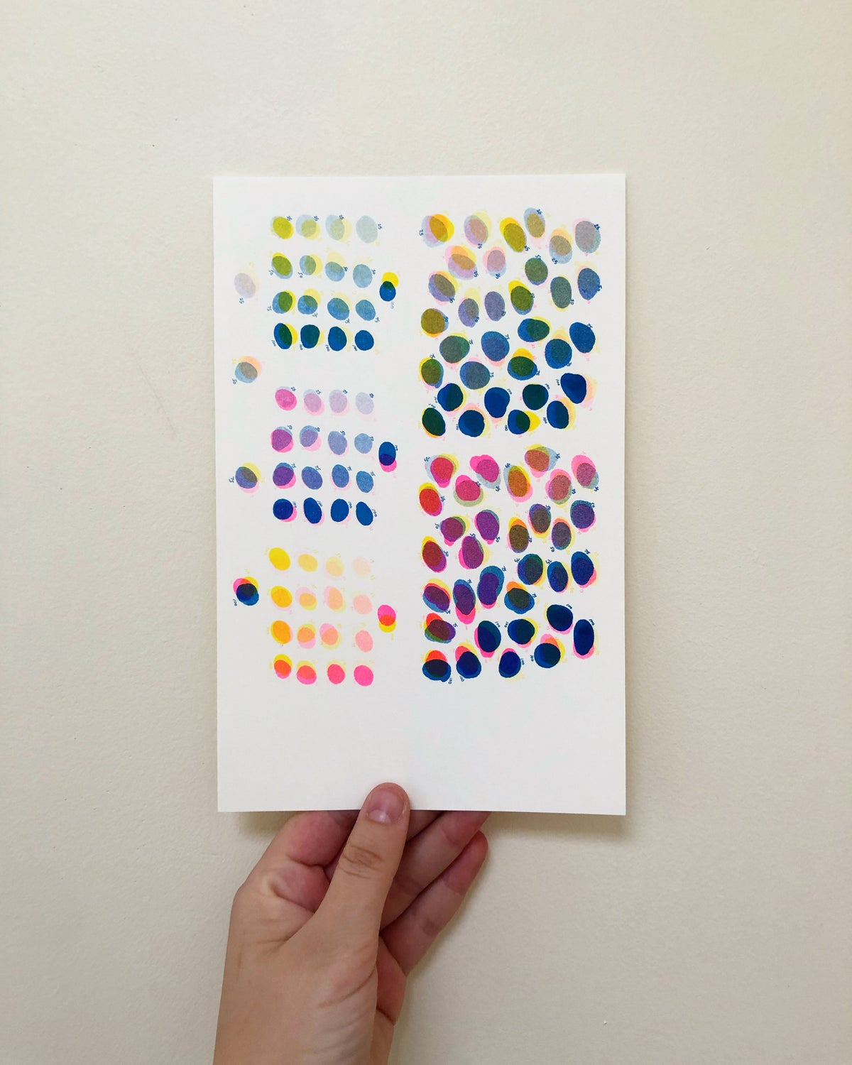 Image of Three Color Riso Chart - Small