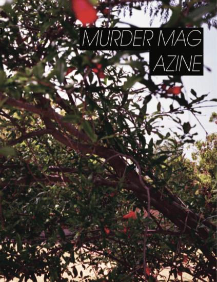 Image of MURDER MAGAZINE NO.3