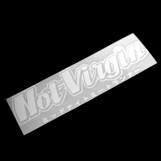 Image of Not Virgin Decal