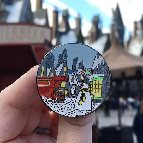 Image of Third Year Village Trips Pin