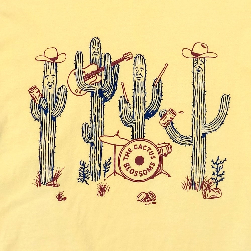 Image of Cactus Band Ladies Tee