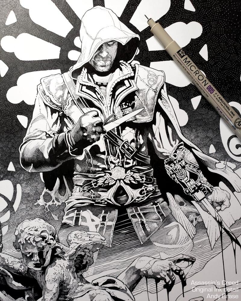 Image of Assassins: Dark- 13x19 Limited Print (signed)