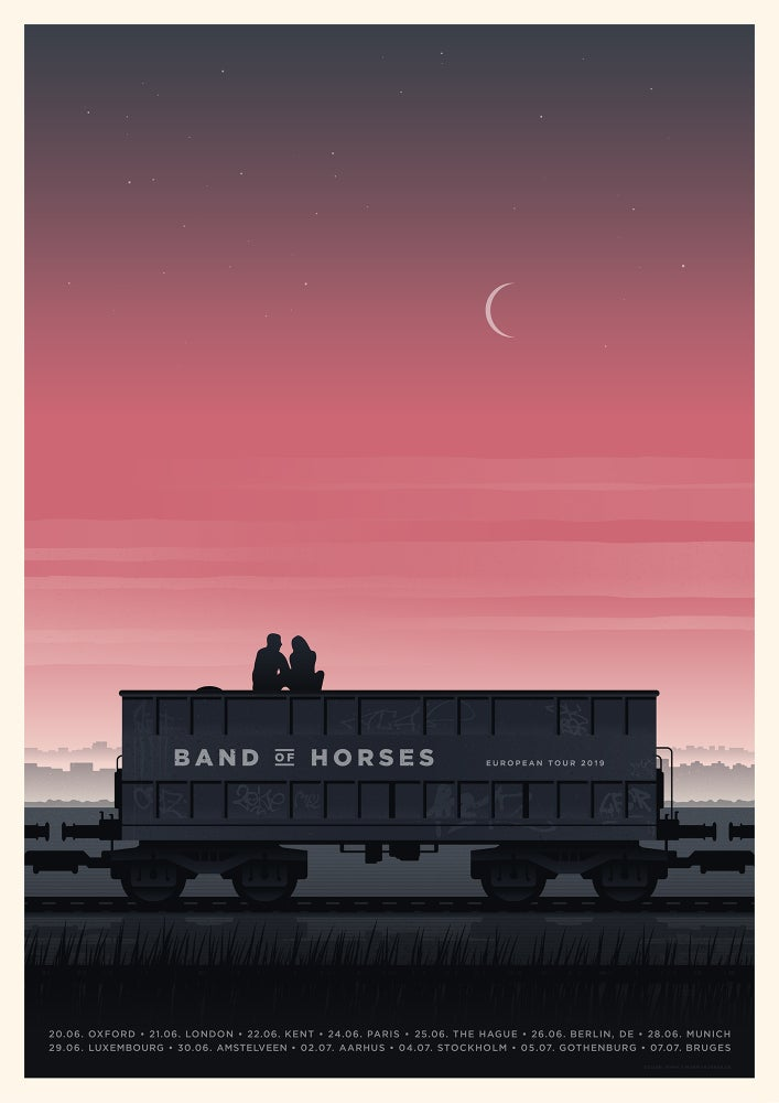 Image of Band Of Horses European Tour 2019