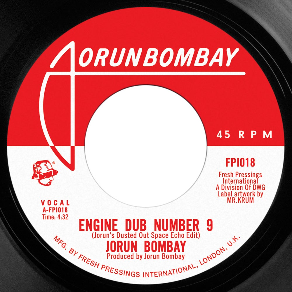 Image of Jorun Bombay 'Engine Dub No 9'/'Opening Act ft Emskee' (FPI018) PRE ORDER