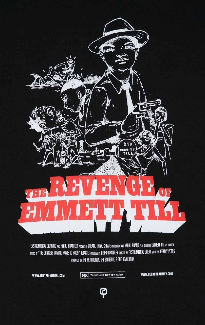 Image of THE REVENGE OF EMMETT TILL - Enstrumental + Hebru Brantley - BLACK Version