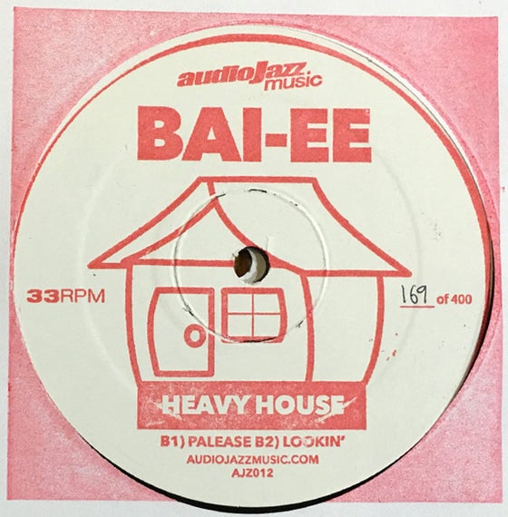 "Image of Ed Nine & Bai-ee - Heavy House EP 12"" [ajz012]"