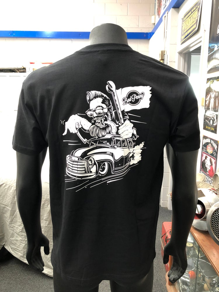 Image of Bad Penny Crazy Chris T-Shirt