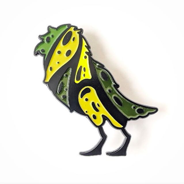 Image of Caique Enamel Pin