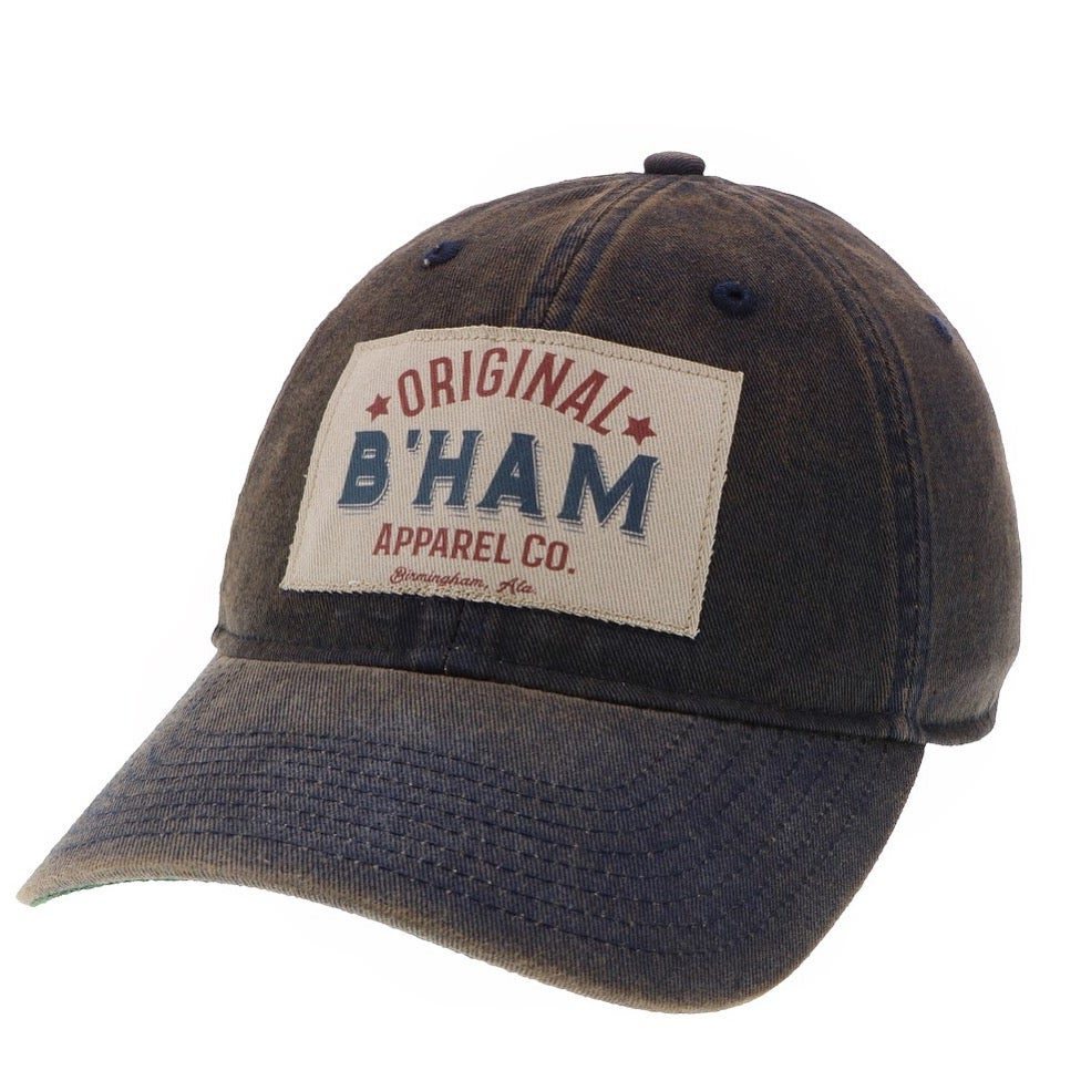 Image of Original B'ham Apparel Co Cap - Navy