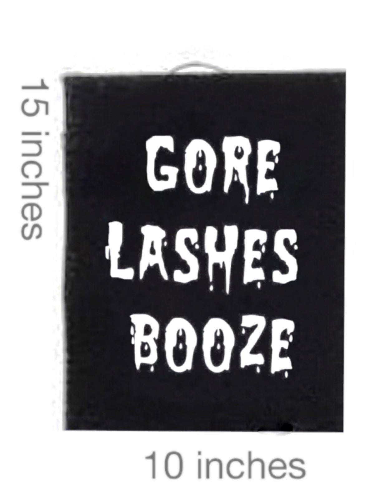 Image of Gore Lashes Booze Patch