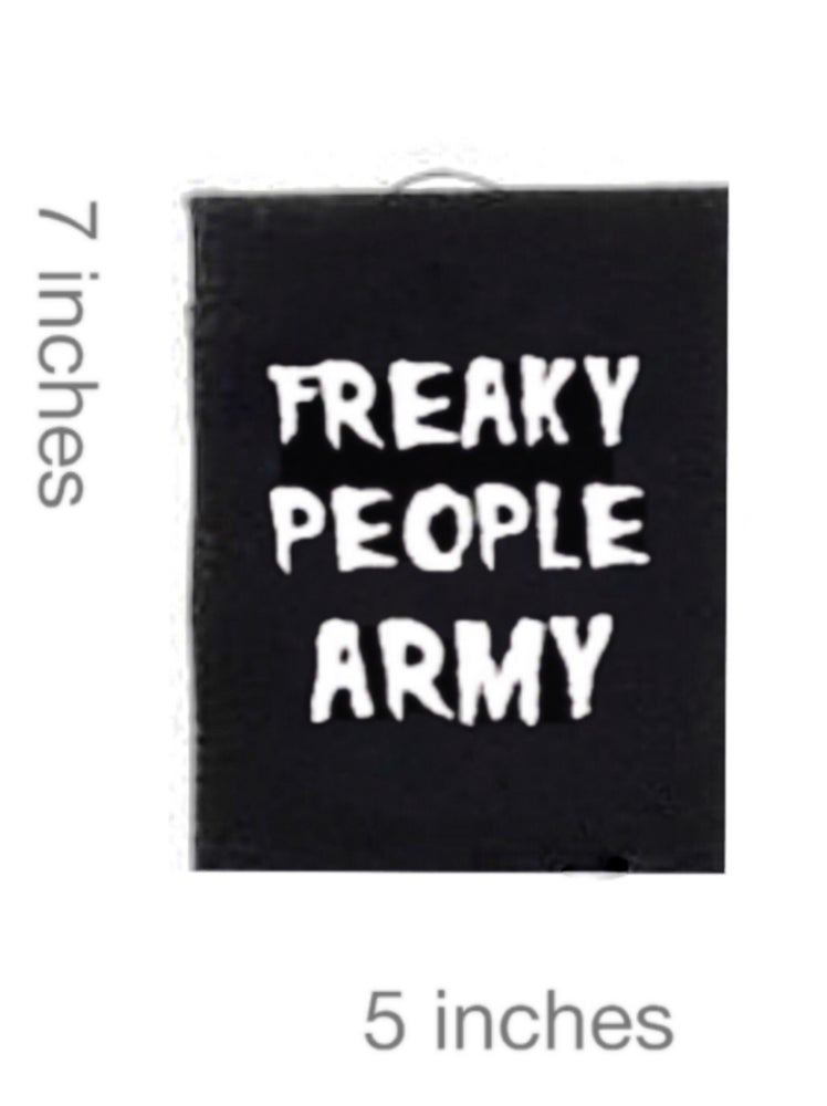 Image of Freaky People Army Patch