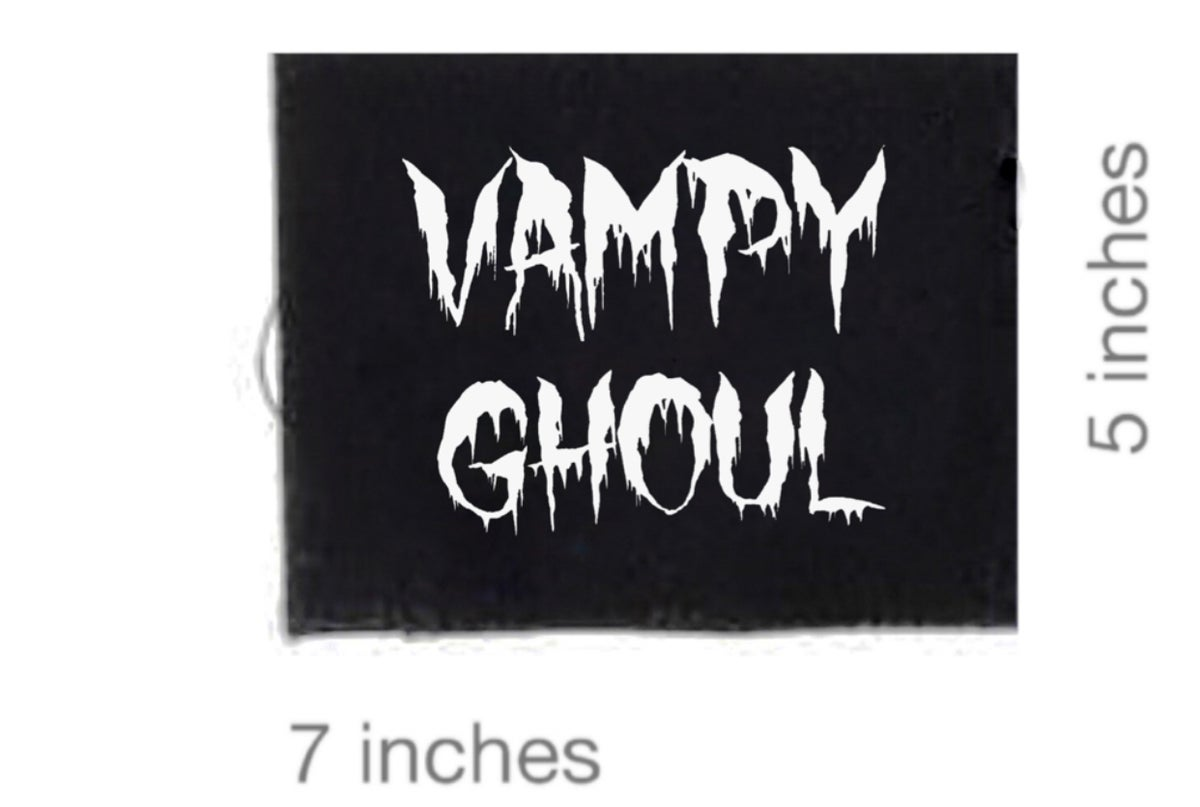 Image of Vampy Ghoul Patch
